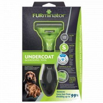 FURminator Undercoat deShedding Tool for Small Long Hair Dog