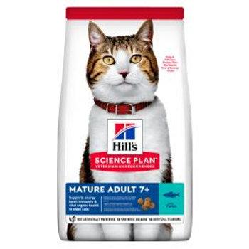 Hills Science Plan Mature Adult Dry Cat Food Tuna