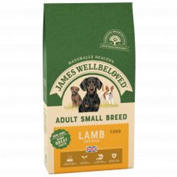 James Wellbeloved Dog Adult Small Breed Lamb & Rice