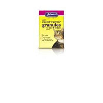 Johnson's Cat/Kitten Easy Wormer Granules