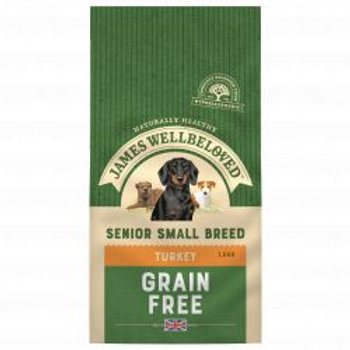 James Wellbeloved Turkey & Veg Senior Small Breed Grain Free