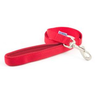 Ancol Nylon Lead Red
