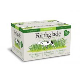 Forthglade Complete Meal Grain Free Adult Multicase 12 Pack (Turkey, Lamb, Duck