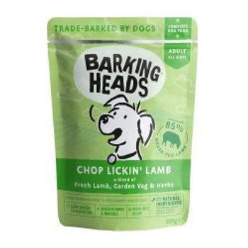 Barking Heads Chop Lickin Lamb Pouch 300g