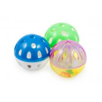Ancol Plastic Ball & Bell