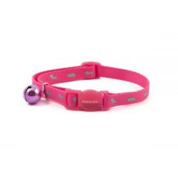 Ancol Cat Collar Hi Viz Pink