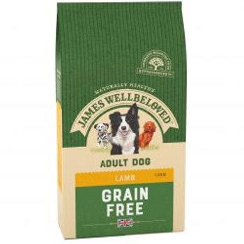 James Wellbeloved  Dog Grain Free Lamb Adult