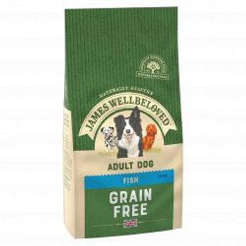 James Wellbeloved Dog Grain Free Fish Adult