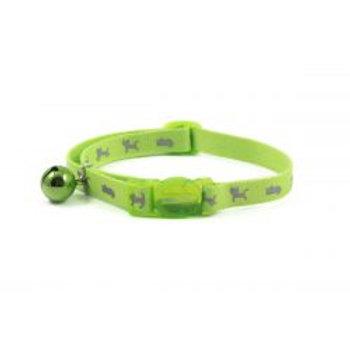 Ancol Cat Collar Hi Viz Green