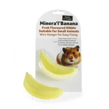 Small 'N' Furry Minera 'L' Banana