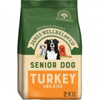 James Wellbeloved Senior Dog Turkey & Rice