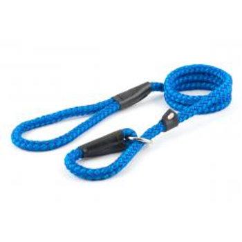 Ancol Nylon Slip Lead Blue