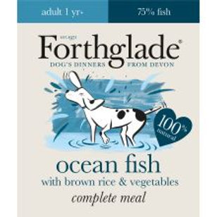 Forthglade Complete Meal Adult Ocean Fish with Brown Rice & Vegetables