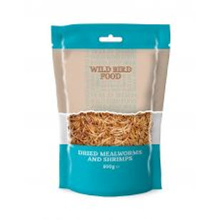 Dried Mealworms and Shrimps