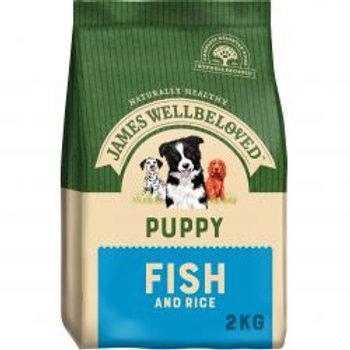 James Wellbeloved Dog Puppy Fish & Rice
