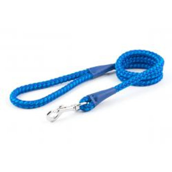 Ancol Rope Lead Trigger Hook Blue