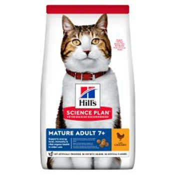Hills Science Plan Mature Adult Dry Cat Food Chicken