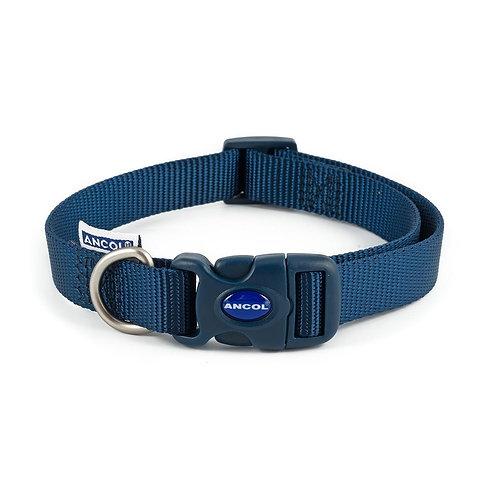Ancol Nylon Adjustable Collar Navy