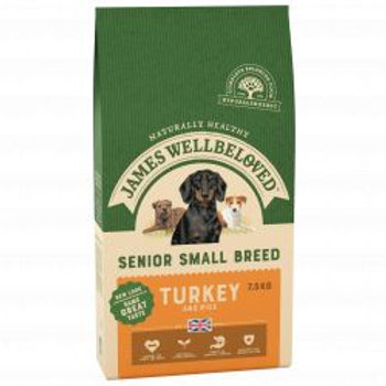 James Wellbeloved Dog Senior Small Breed Lamb & Rice