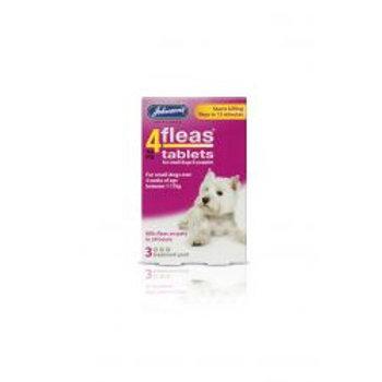 Johnson's 4fleas Small Dog Tabs