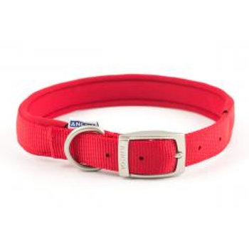 Ancol Air Hold Collar Red