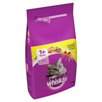 Whiskas 1+ Complete Chicken, 2KG