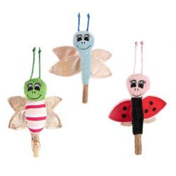 Ancol Butterfly, Ladybird and Dragonfly Wand