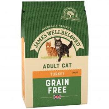 James Wellbeloved Adult Cat Grain Free No Cereals Turkey & Veg