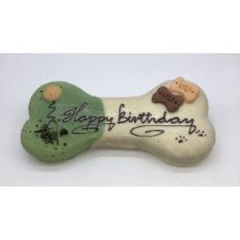Look Pets Happy Birthday Bone Biscuit