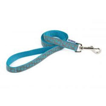 Ancol Lead Reflect Paw Blue