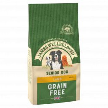 James Wellbeloved Dog Grain Free Lamb Senior