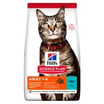 Hills Science Plan Adult Dry Cat Food Tuna
