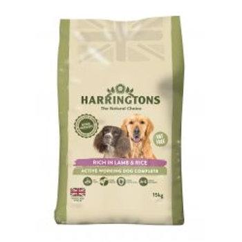Harringtons Active Worker Complete Lamb & Rice