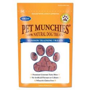 Pet Munchies Natural Venison Training Treats