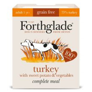 Forthglade Complete Meal Adult Turkey with Brown Rice & Vegetab