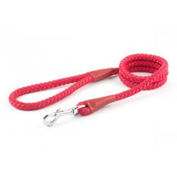 Ancol Rope Lead Trigger Hook Red