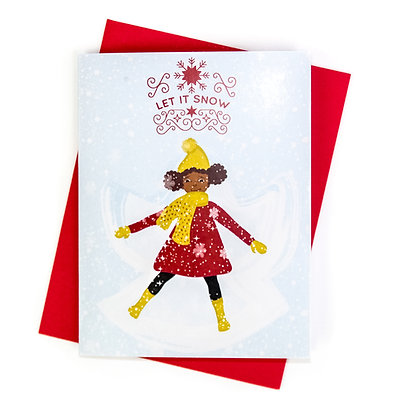 Christmas Card – Snow Angel