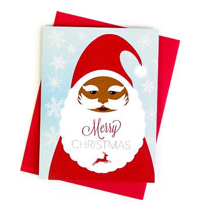 Christmas Card – Smiling Santa