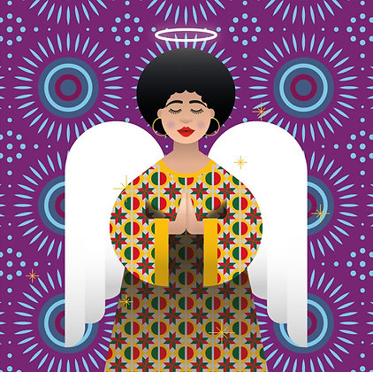 Christmas Card – African Angel