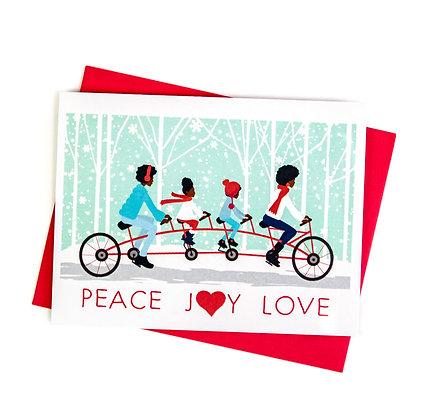 Christmas Card – One Love