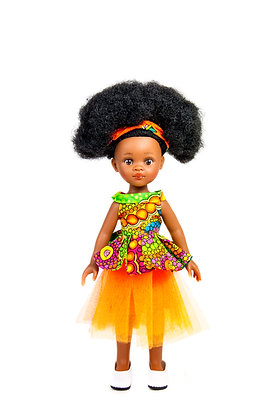 Sibahle - Bontle Doll Full Kit (orange)
