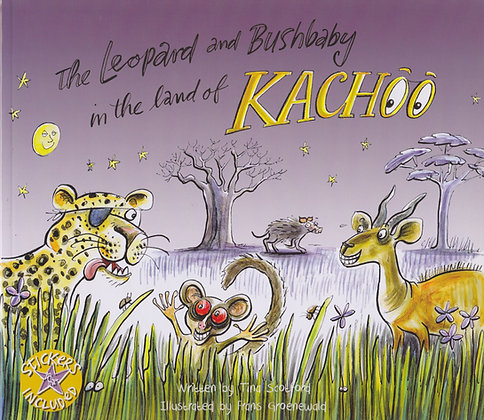 The Leopard and Bushbaby in the Land of Kachoo