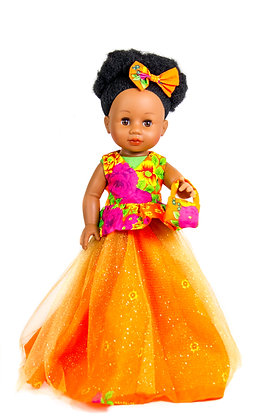 Sibhale - Nobuhle Doll Full kit (Orange)