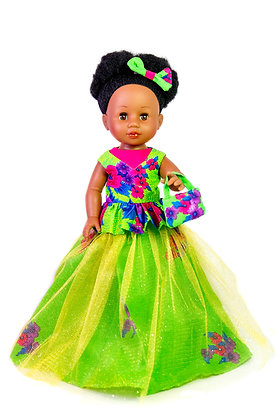 Sibahle - Nobuhle Doll Full kit  (Green)