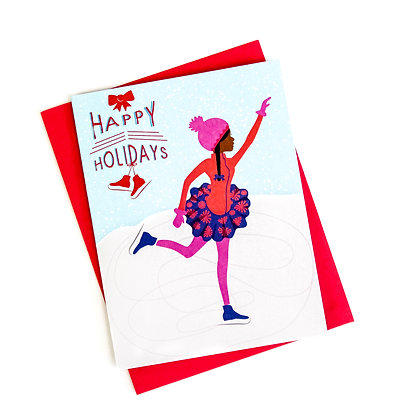 Christmas Card – Ice Skating