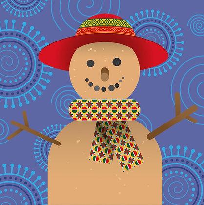 Christmas Card – Festive Sandman