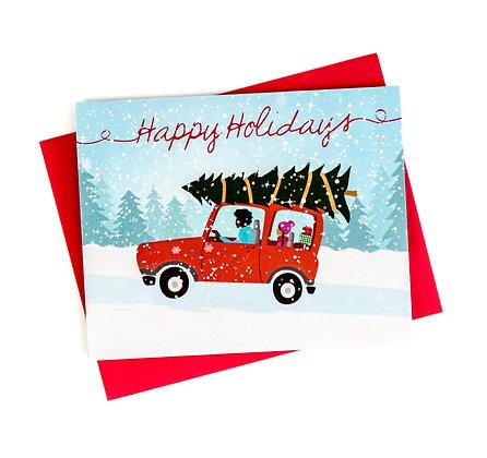 Christmas Card – Homeward Bound
