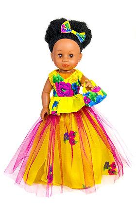 Sibahle - Nobuhle Doll Full kit (Yellow)