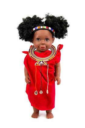 Mimi Authentic - Maasai Doll