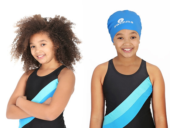 Swimma Caps Afro-Kids